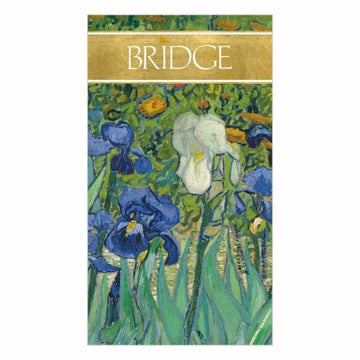 Bridge Score Pad - Van Gogh Irises