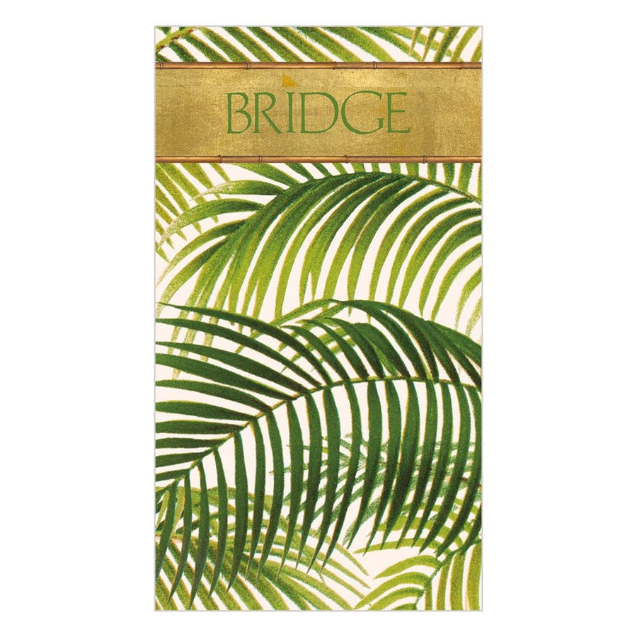 Bridge Score Pad - Under the Palm