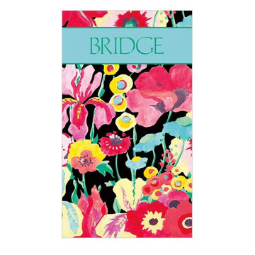 Bridge Score Pad - Secret Garden