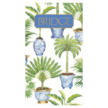 Bridge Score Pad - Potted Palms