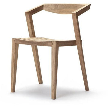 CONTEMPORARY TEAK CHAIR