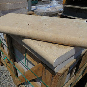 Travertine-Walnut-Bullnose