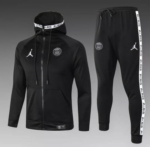 PSG x Jordan Full Zip Hooded Tracksuit Set