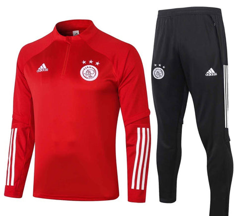 Ajax 2020/21 1/4 Zip Full Tracksuit Set