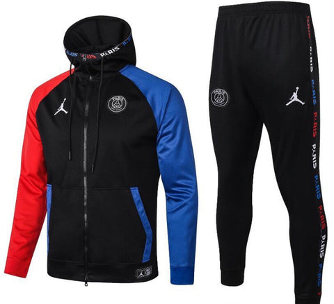 PSG x Jordan Hooded Full Zip Tracksuit Set