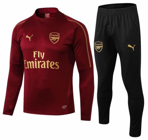 OUTLET Arsenal 1/4 Zip Full Tracksuit Set