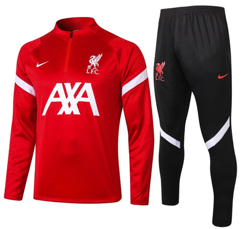 Liverpool 1/4 Zip Full Tracksuit Set