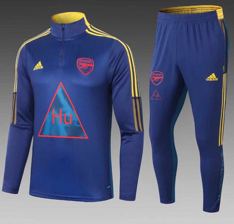 Arsenal x Humanrace 1/4 Zip Full Tracksuit Set