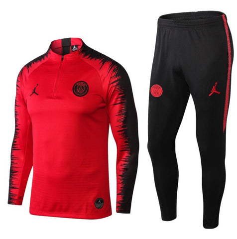 PSG x Jordan 1/4 Zip Full Tracksuit Set