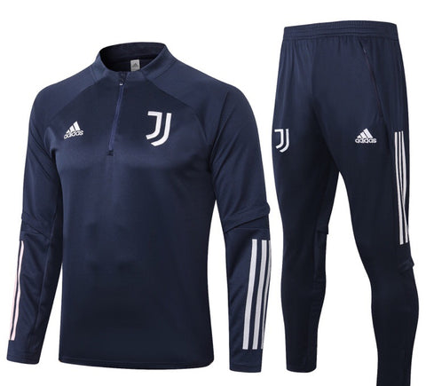 Juventus 2020/21 1/4 Zip Full Tracksuit Set