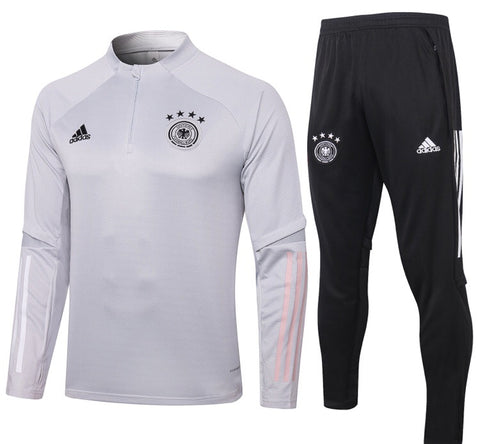 Germany National Team 2020/21 1/4 Zip Full Tracksuit Set