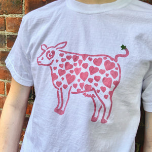 Unisex Strawberry Cow T-Shirts