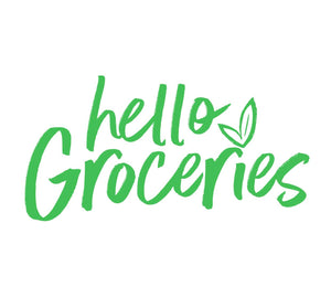 Hello Groceries Logo - Groceries Delivered London
