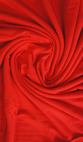 Cotton Jersey Hijab Scarf - Candy Red