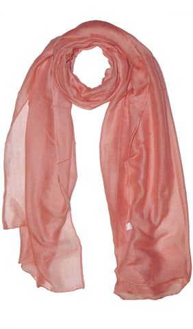 Plain Viscose Maxi Hijab - Blush Pink