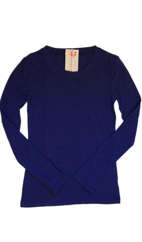 Long Sleeve T-Shirt - Royal Blue