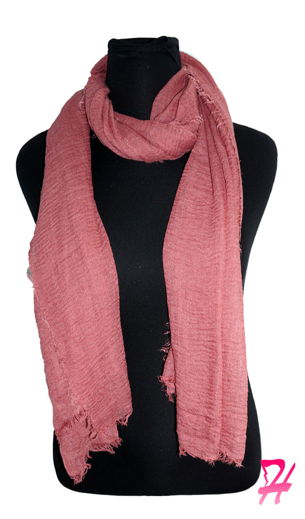 Cotton Cloud Hijab Scarf - Dusty Rose