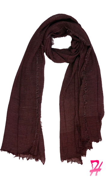 Cotton Cloud Hijab Scarf - Dusty Wine