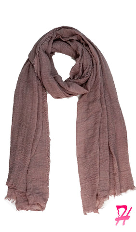 Cotton Cloud Hijab Scarf - Pale Mauve