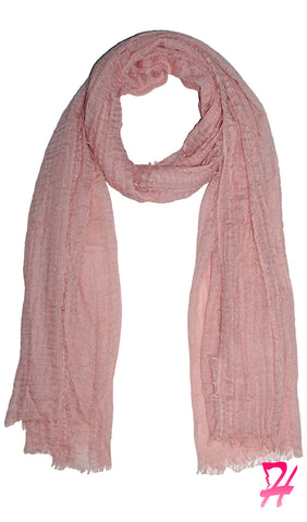Cotton Cloud Hijab Scarf - Soft Pink