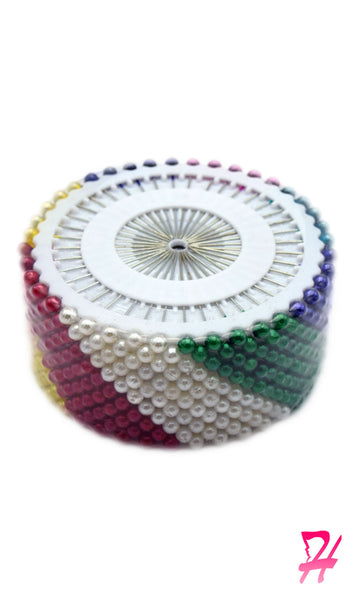 hijab pin wheel - multi-color pack of 40 pins