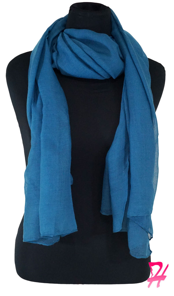 Plain Viscose Maxi Hijab - Corsair