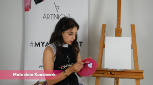 ArtNight Tutorial: Bunter Hirsch - inklusive ArtNight Malbox