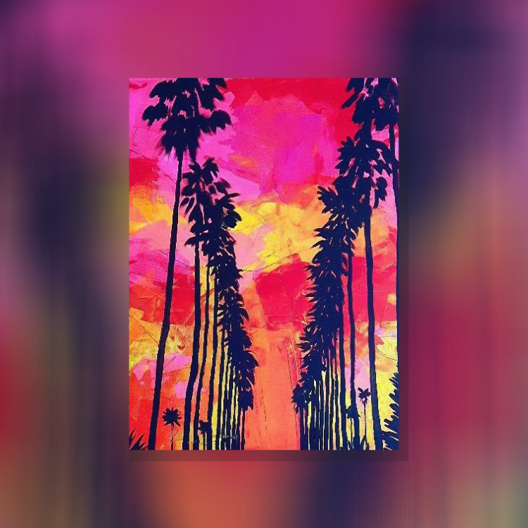 ArtNight Tutorial: California Dreaming - inklusive ArtNight Malbox