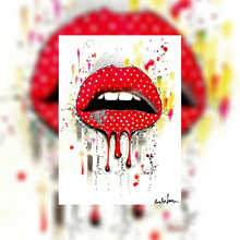 Laden Sie das Bild in den Galerie-Viewer, ArtNight Live: Polka Dot Lips