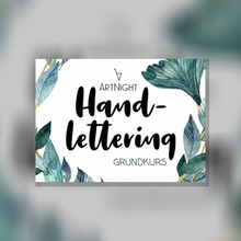Laden Sie das Bild in den Galerie-Viewer, ArtNight Tutorial: Handlettering Grundkurs - inklusive ArtNight Handlettering-Set
