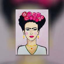 Laden Sie das Bild in den Galerie-Viewer, ArtNight Tutorial: Frida im Illustrationsstil - inklusive ArtNight Malbox