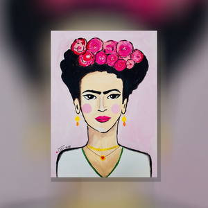 ArtNight Tutorial: Frida im Illustrationsstil - inklusive ArtNight Malbox