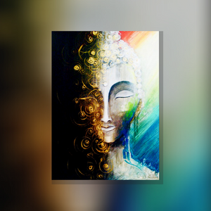 ArtNight Tutorial: Buddha - inklusive ArtNight Malbox (Gold Edition)