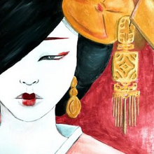 Laden Sie das Bild in den Galerie-Viewer, ArtNight Live: Geisha