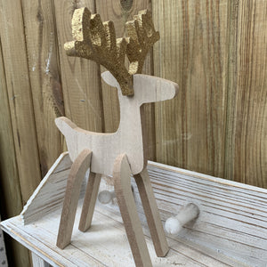 SELF ASSEMBLY WOODEN DEER