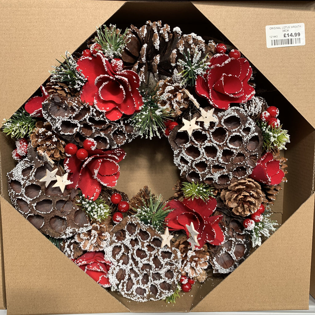 ORIGINAL LOTUS WREATH 38CM