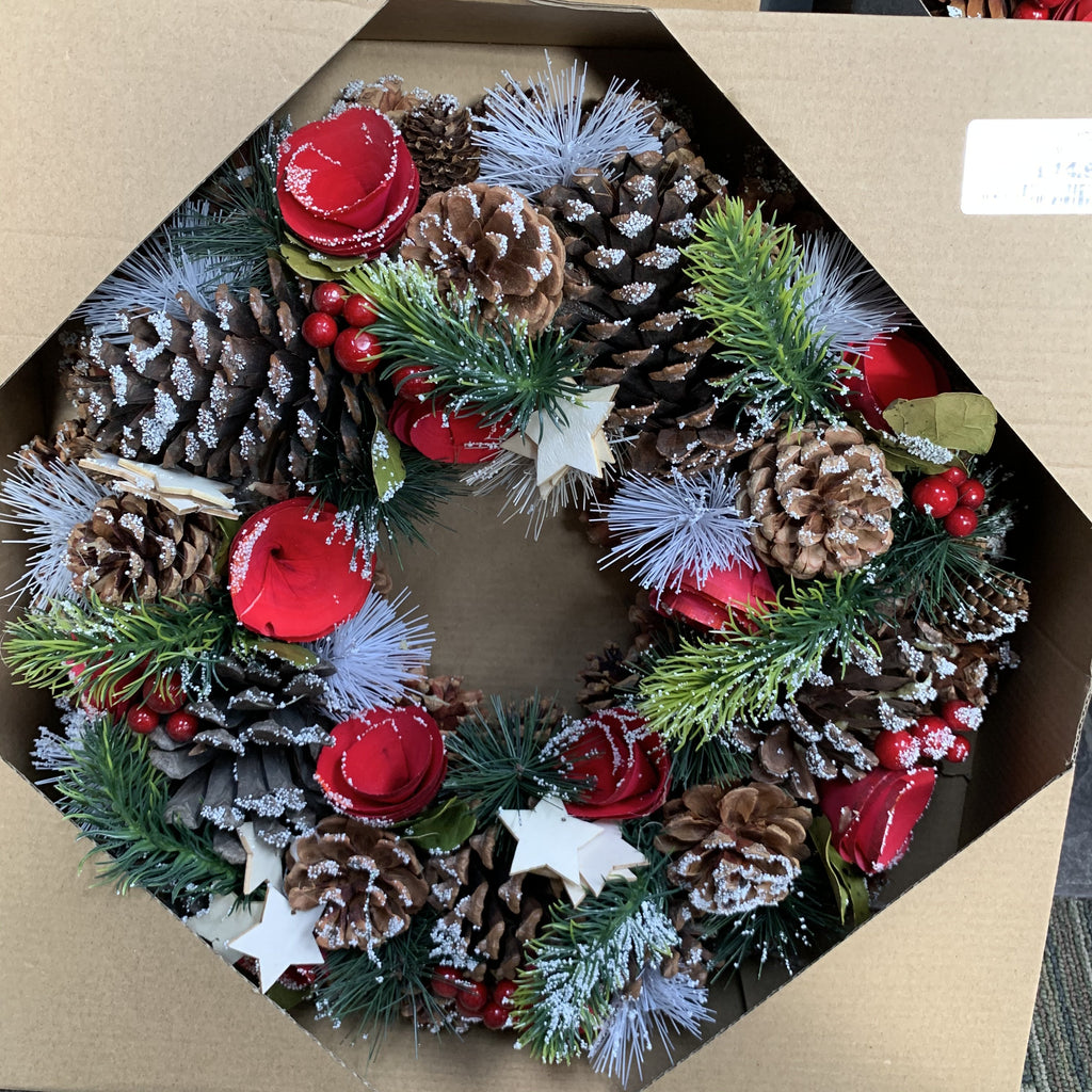 ORIGINAL STARS WREATH 38CM