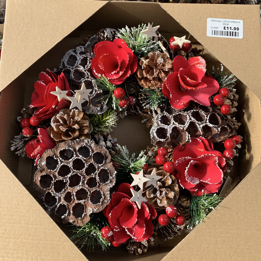 ORIGINAL LOTUS WREATH 30CM