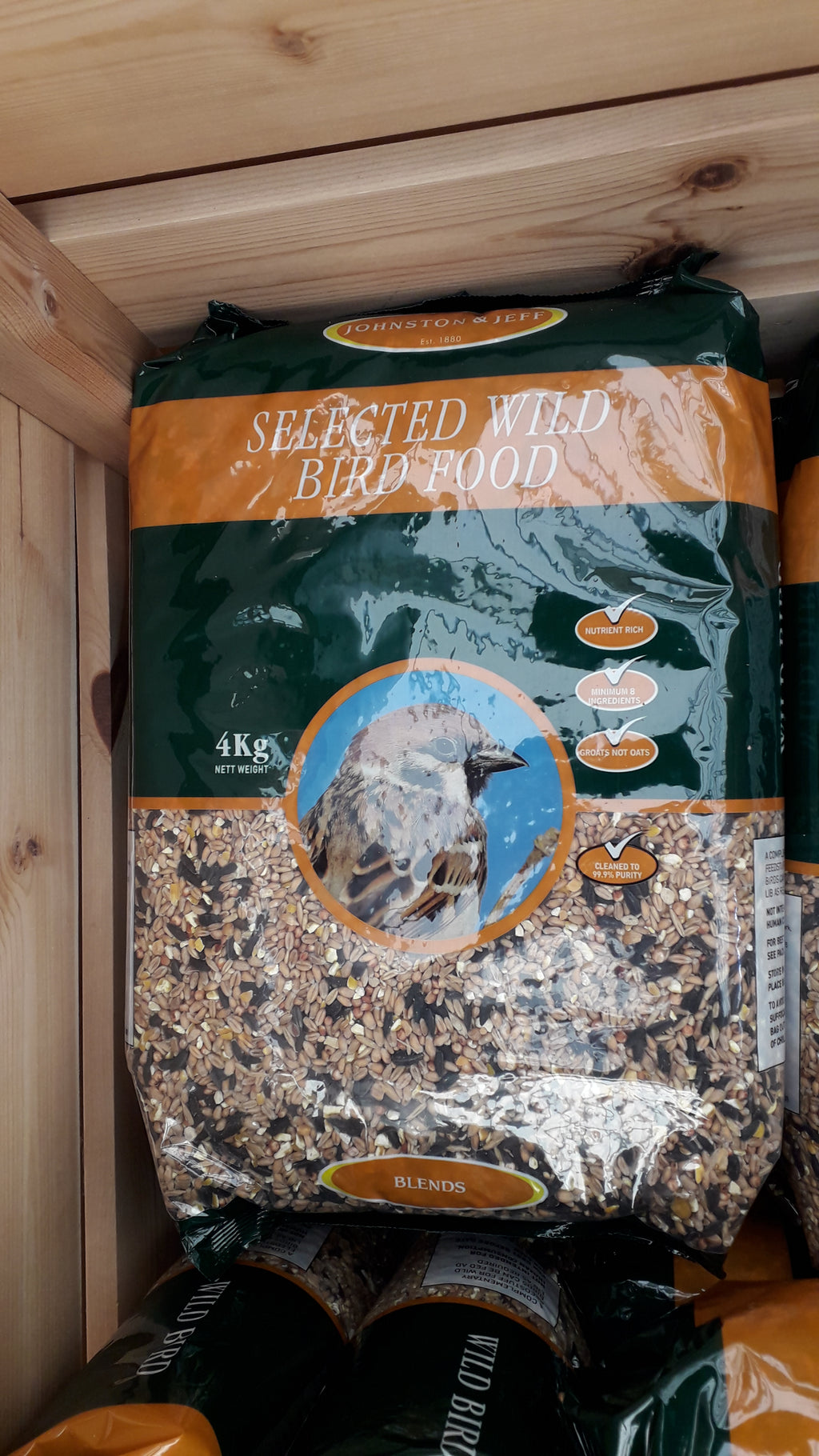 Selected Wild Bird Food 4kg