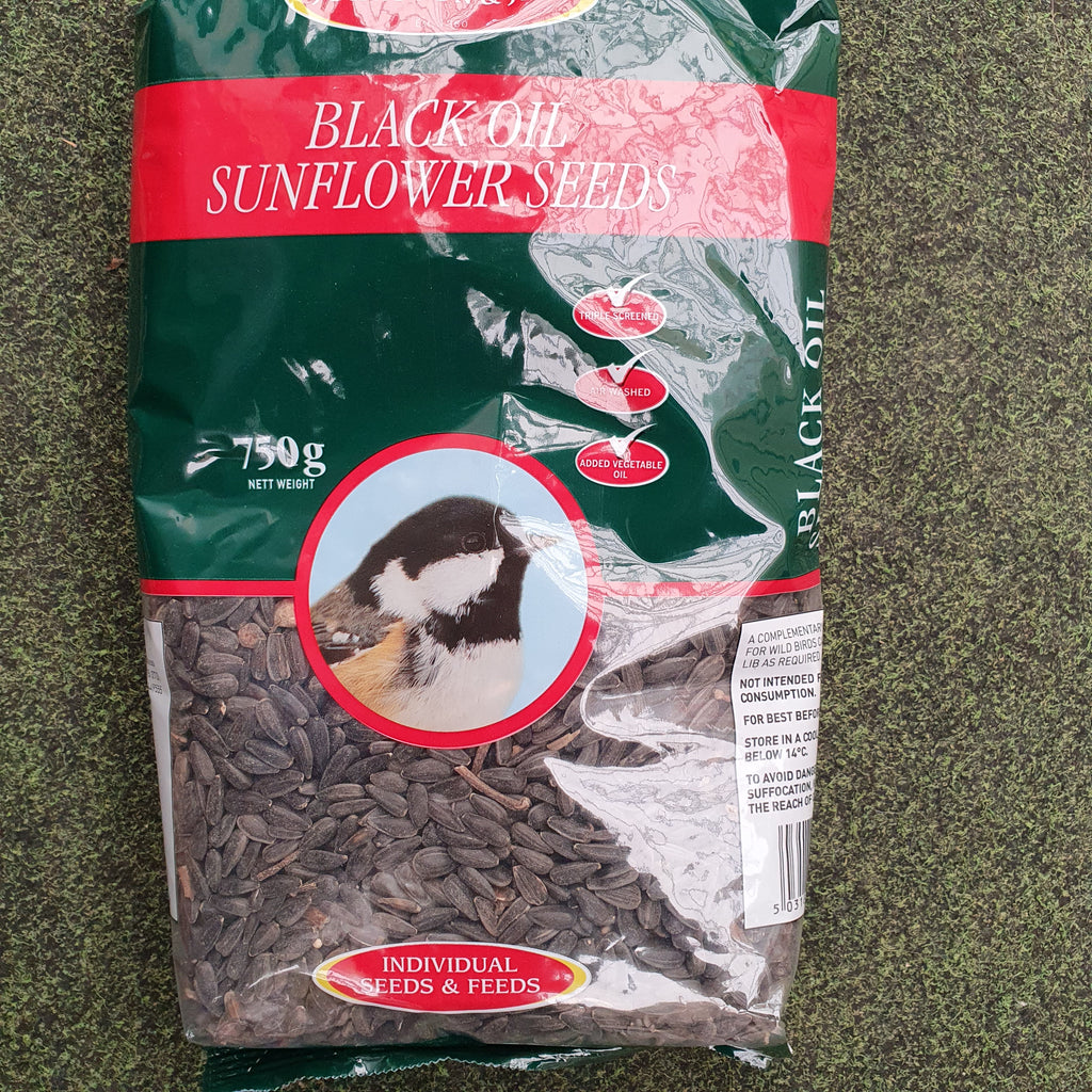 Black oil sunflower seeds 750g