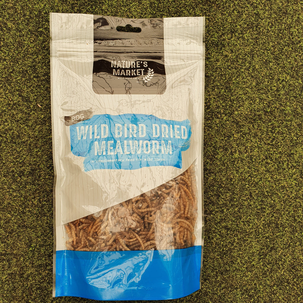 80g Wild bird dried mealworm