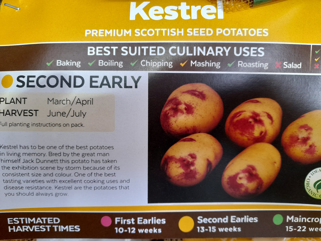kestrel Seed Potatoes 2kg