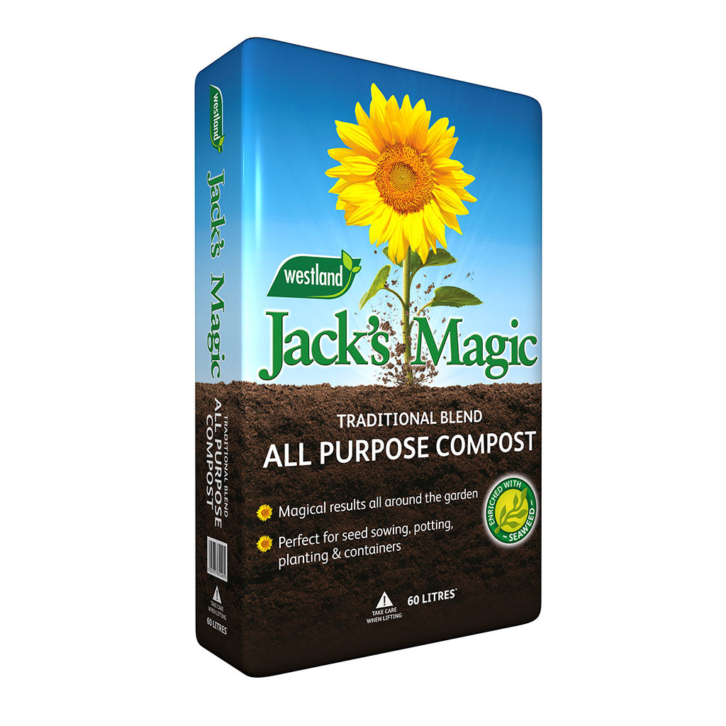 JACKS MAGIC ALL PURPOSE COMPOST 60LTR