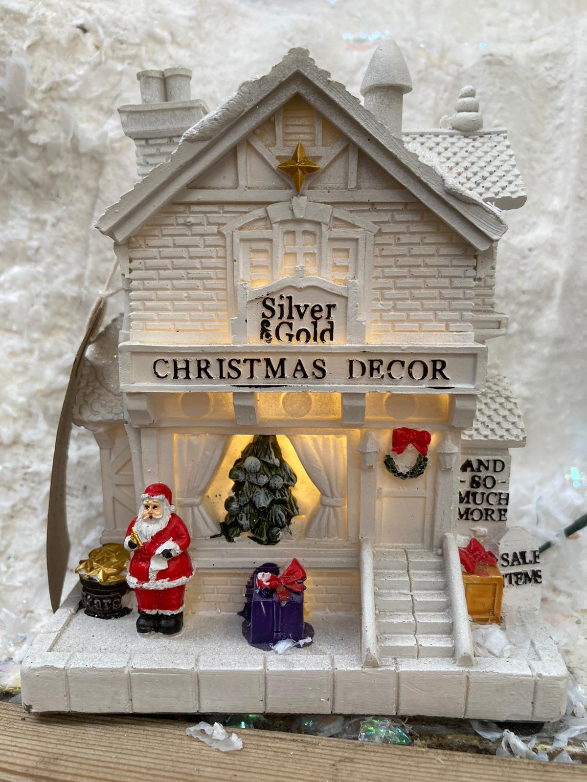 CHRISTMAS D�COR SHOP 17 X 10.5CM BATTERY-OPERATED