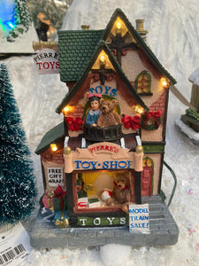 PIERRE'S TOY SHOP BATTERY OPERATED LIGHT UP