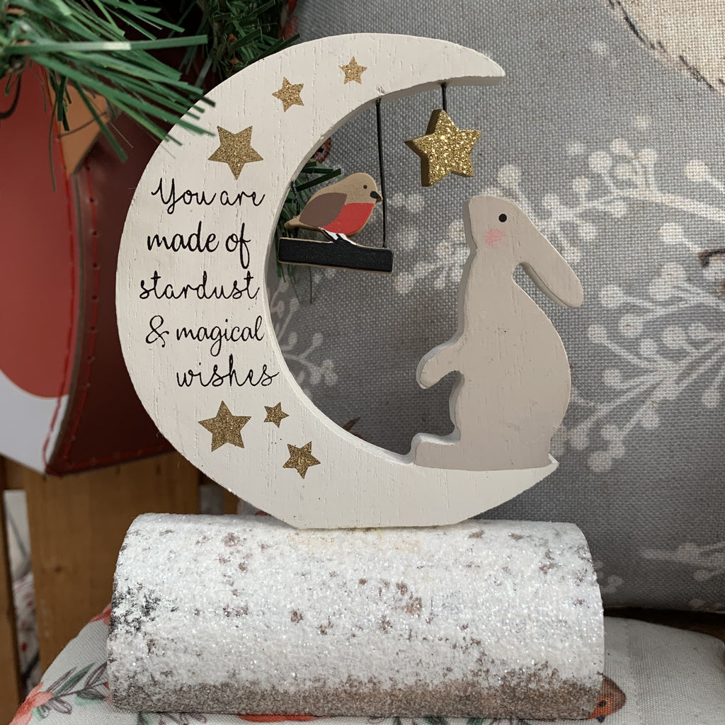 XMAS HARE LOG BLOCK