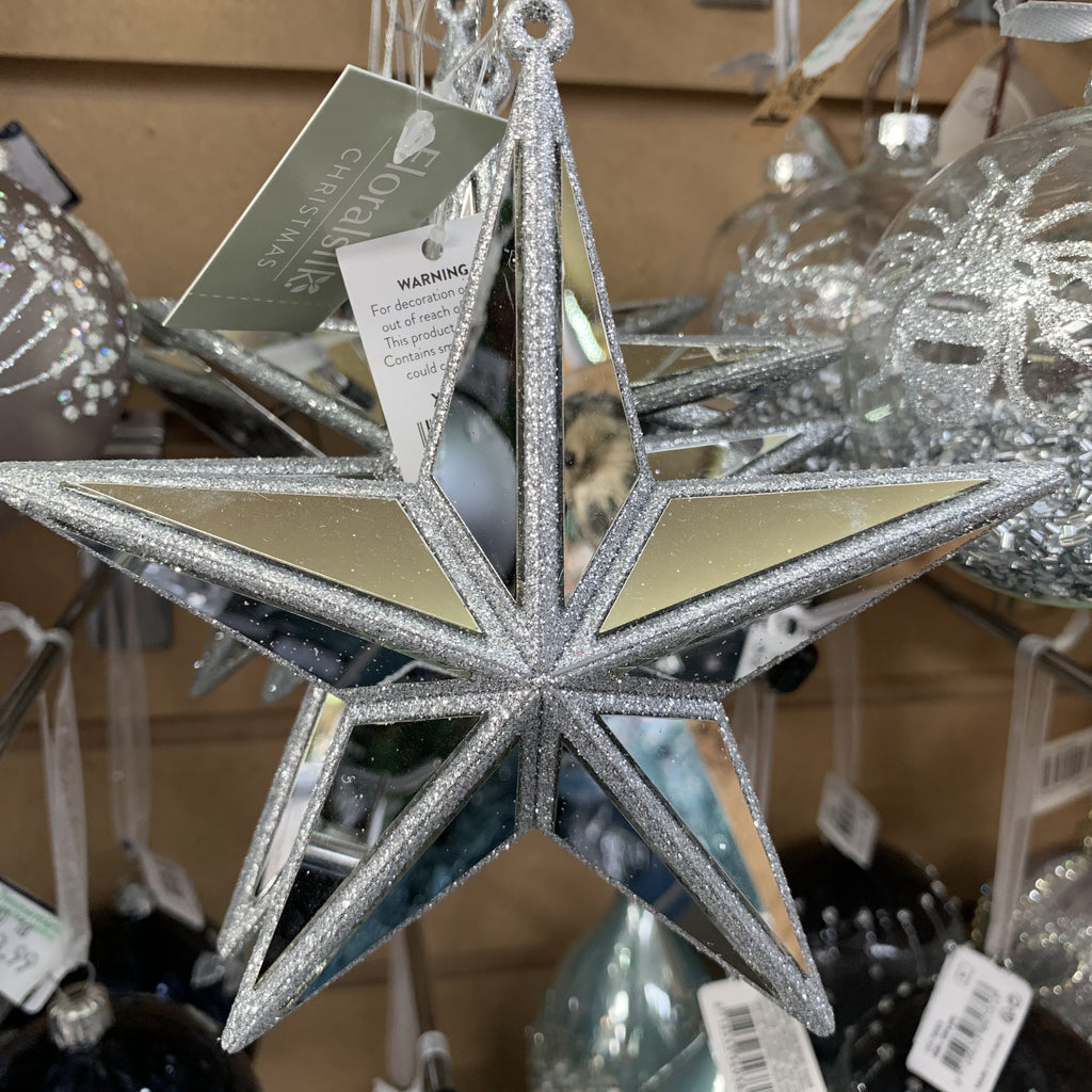 MIRRORED STAR 13CM