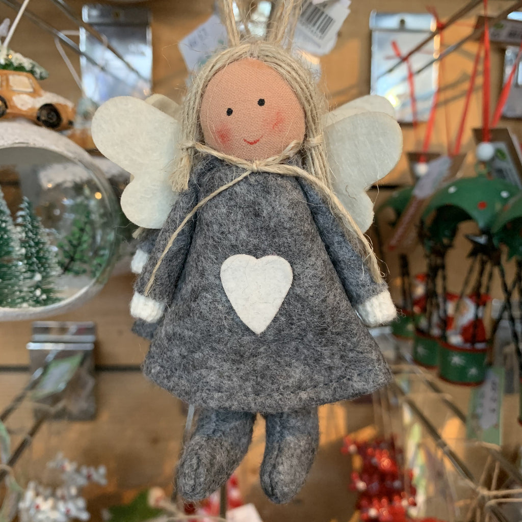 HANGING GREY ANGEL