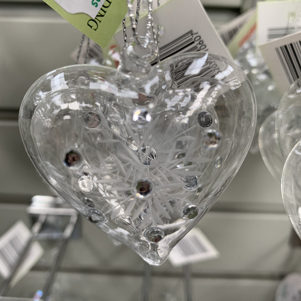GLASS HEART TREE DEC