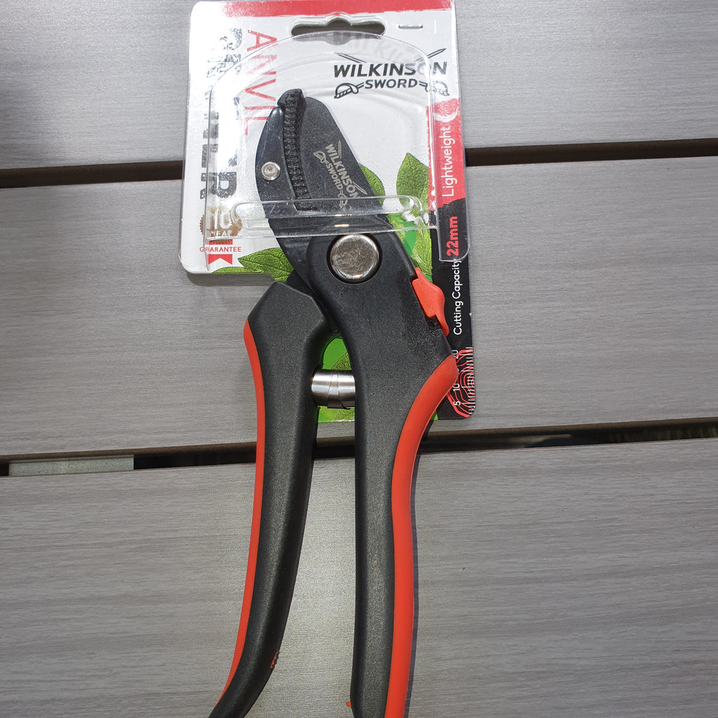 Wilkinson Sword Anvil Pruner Secateur